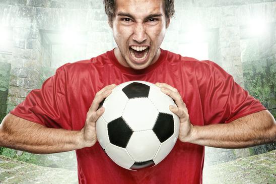 Fotbollsintresserad